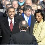 Barack Obama Oath of Office Michelle Obama