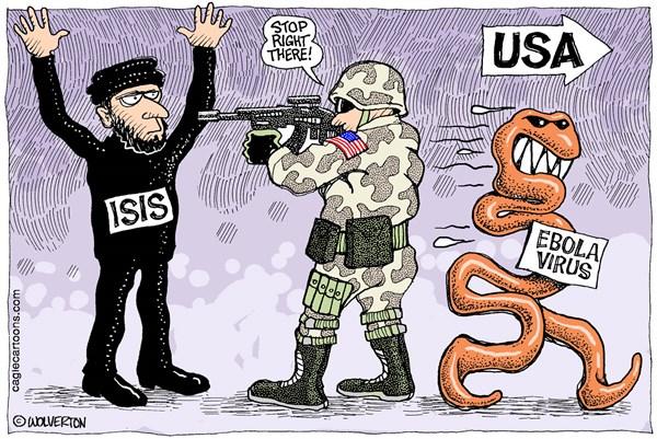 Ebola vs. ISIS