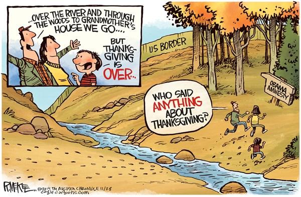 Obama immigration Thanksgiving