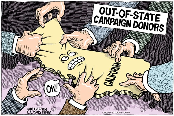 Out of state donors
