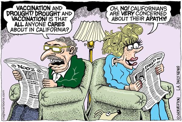 CARTOON: CA political apathy
