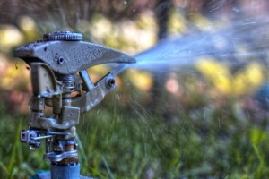 Water Drought Sprinkler