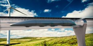 Hyperloop mockup
