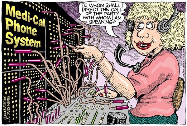 Medi-Cal Cartoon